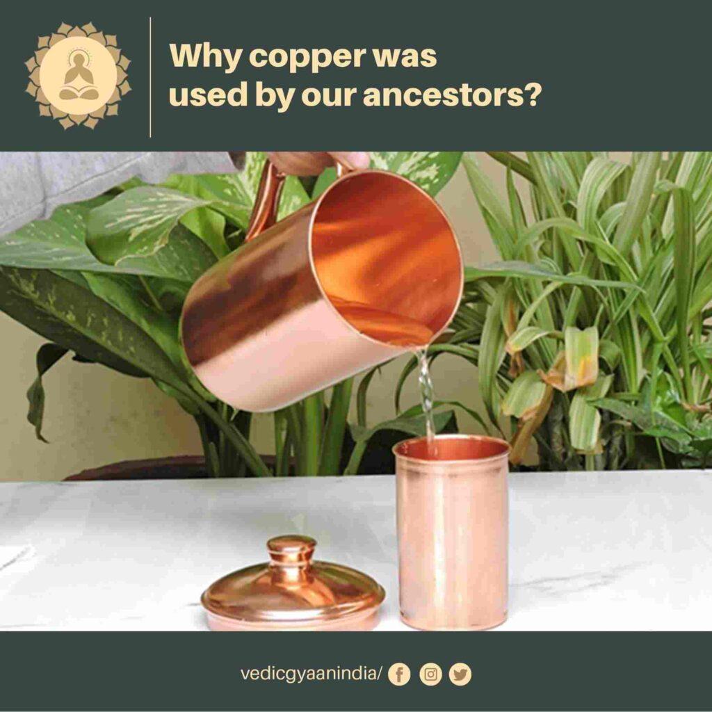 storing water in copper vessel