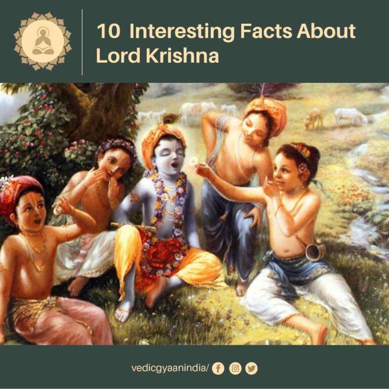 Lord Krishna: 10 Interesting Fact
