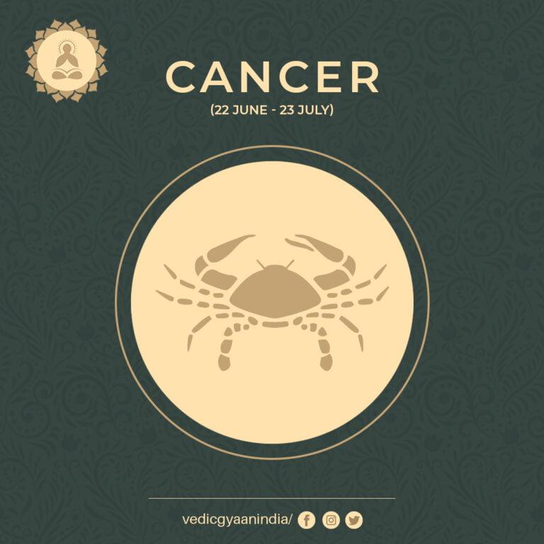 Zodiac Sign- Cancer (June 22- July 23)