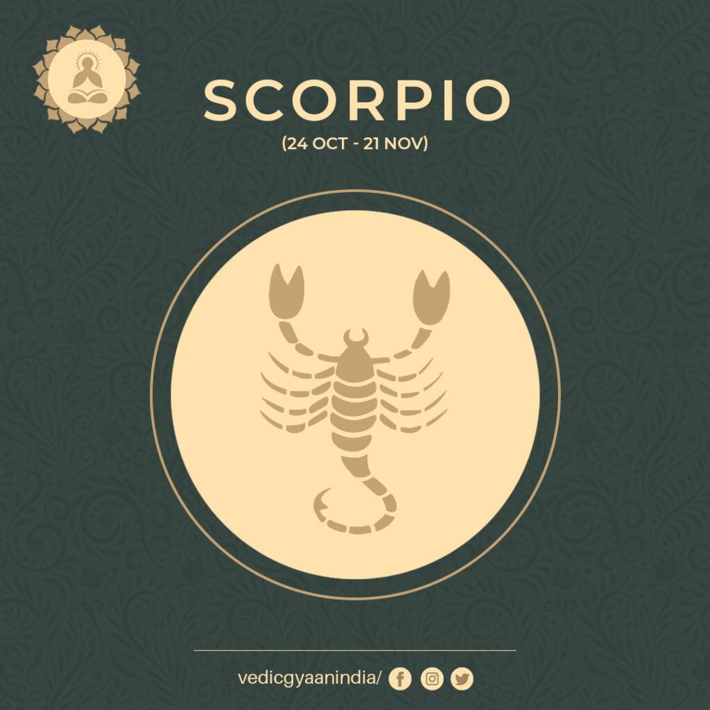 Zodiac Sign - Scorpio (October 24 - November 21)