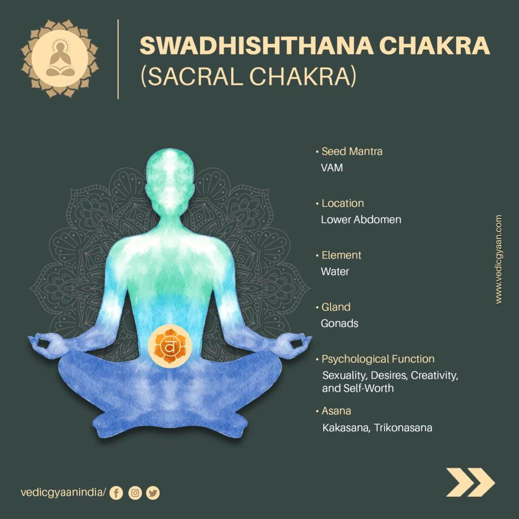 Swadhisthana-chakra-Sacral chakra