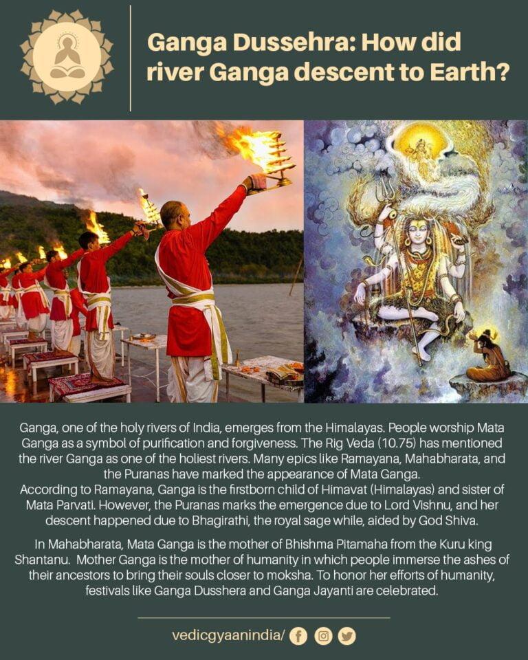 Ganga Mata: How did river Ganga descent to Earth?